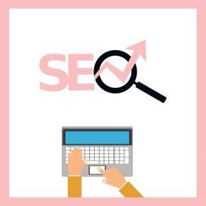 Blogger SEO tricks logo